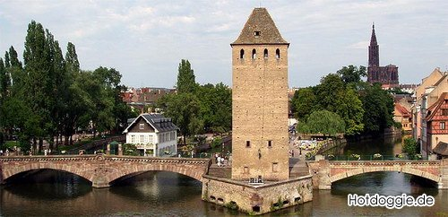 Az egyik Strasbourgi Őrtorony