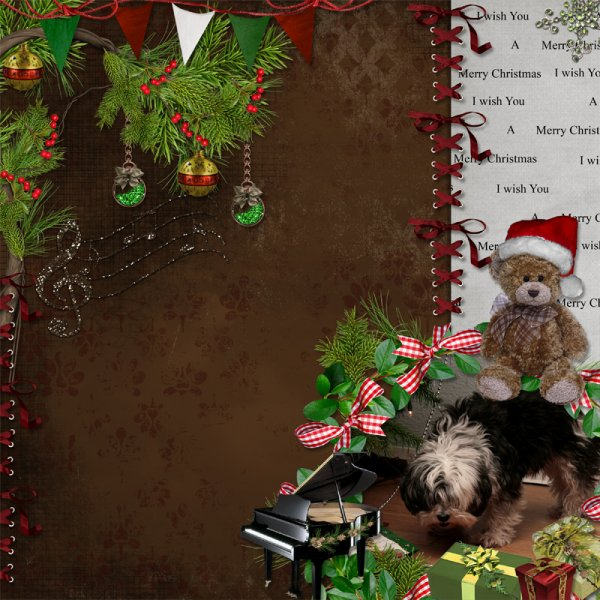 Boldog Karácsonyi Ünnepeket! (Scrapbook - Christmas Dreams)