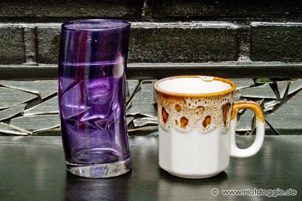 Megasztár 4 pohár lila színben és Barátok közt bögre
