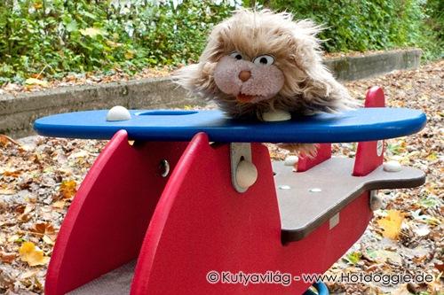 Játék mackók és plüss állatok meséi: Minyau repülni fog