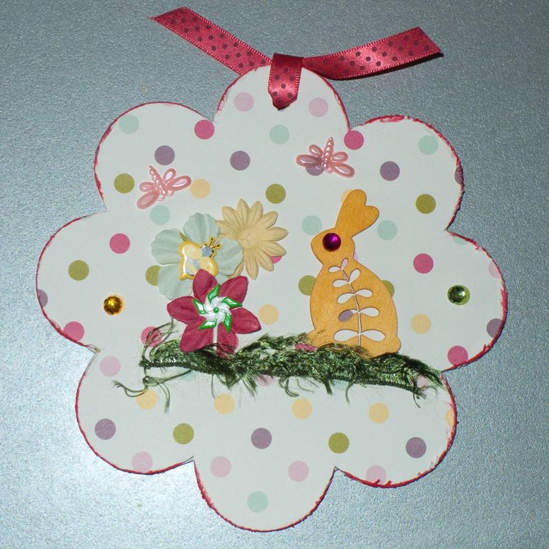Húsvéti hagyományos scrapbook Szép Macicsaládtól